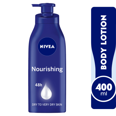 NIVEA Cocoa Butter, Body Care Deep Moisture Serum, Dry Skinl