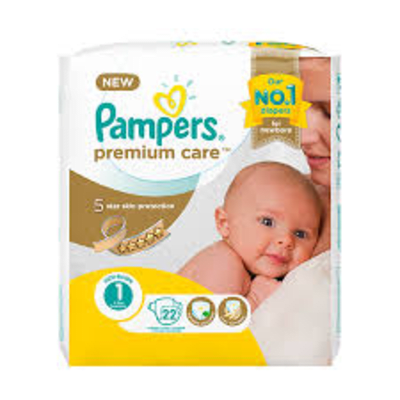 Pampers Size 1 Tier 1 New Born 10004524