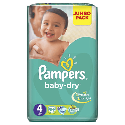 Pampers Mega Pack Large Butterfly  .