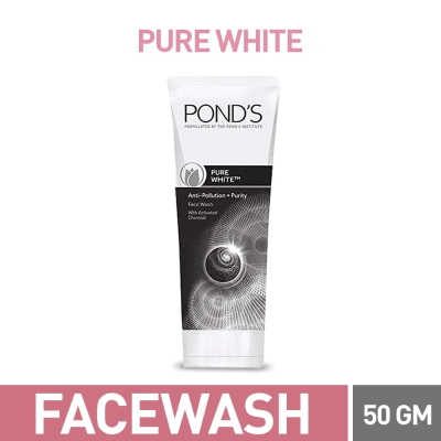 Pond's pure white face wash 50 gm