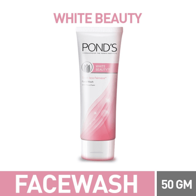 Pond's white beauty face wash 50 gm
