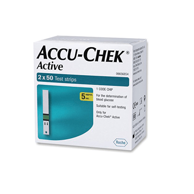 Accu Check Active 2x50 Strips