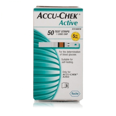 Accu-Check Active Strips 50s