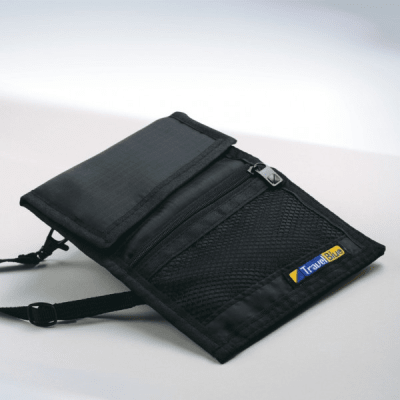 Travel Blue Carry Safe Wallet Neck Pouch