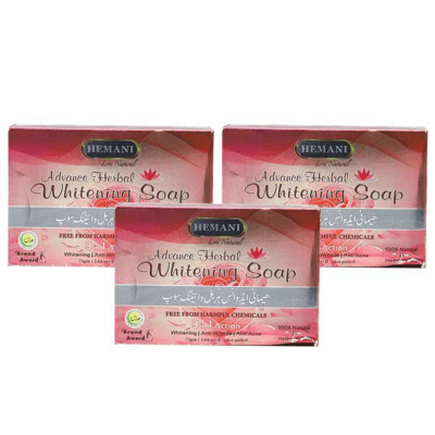 Pack of 3 Soaps