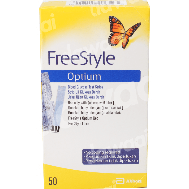 Freestyle Glucometer Strips '50s'