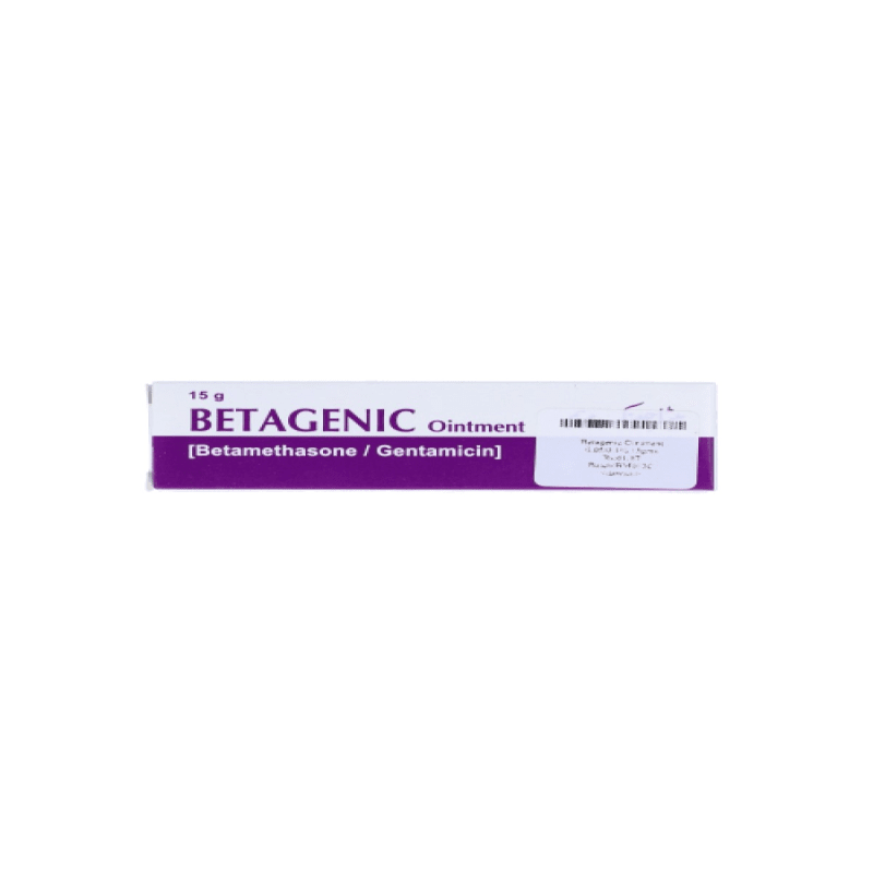 Betagenic Ointment 0.05/0.1%