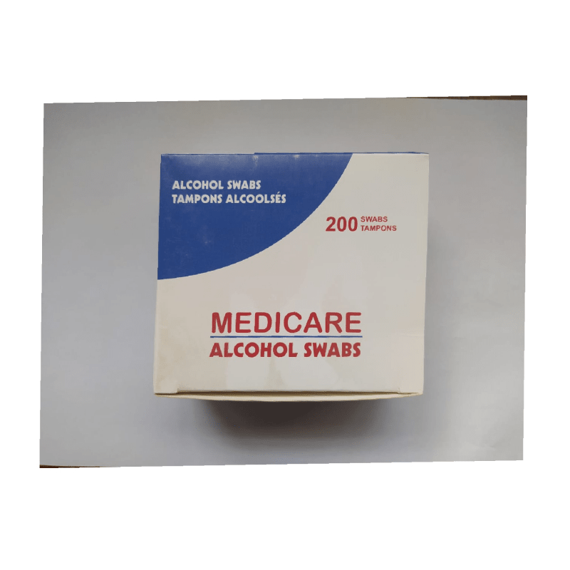 Alcohol Swabs (200 Swabs)