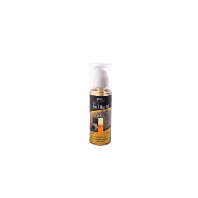 Hemani 2 In 1 Hair Oil Coconut And Sasame 120 Ml