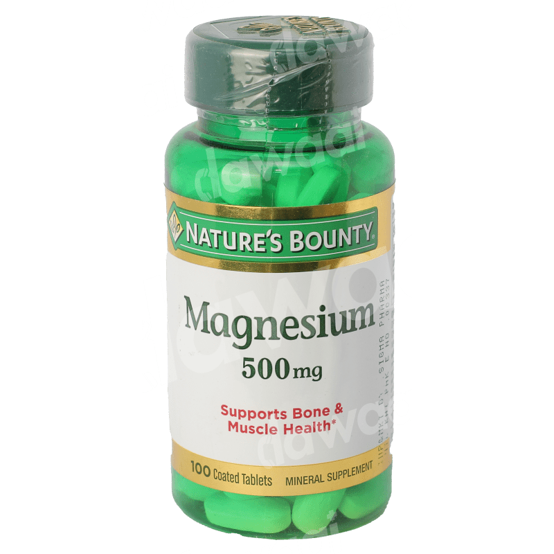 Nature's Bounty Magnesium  500mg