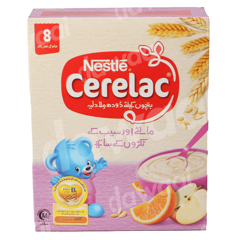 Nestle Cerelac Orange Apple 175mg