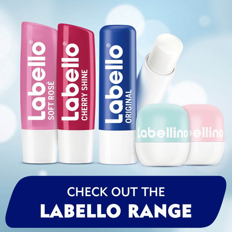 LABELLO Lip Care, Original with Shea Butter, Lip Balm 4.8g