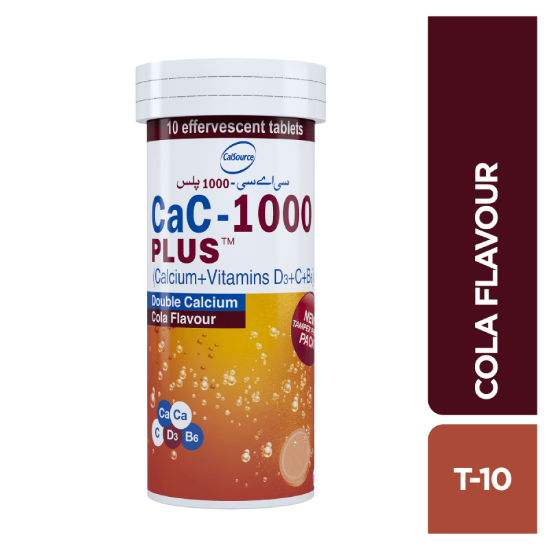 CaC-1000 Plus Cola 10s