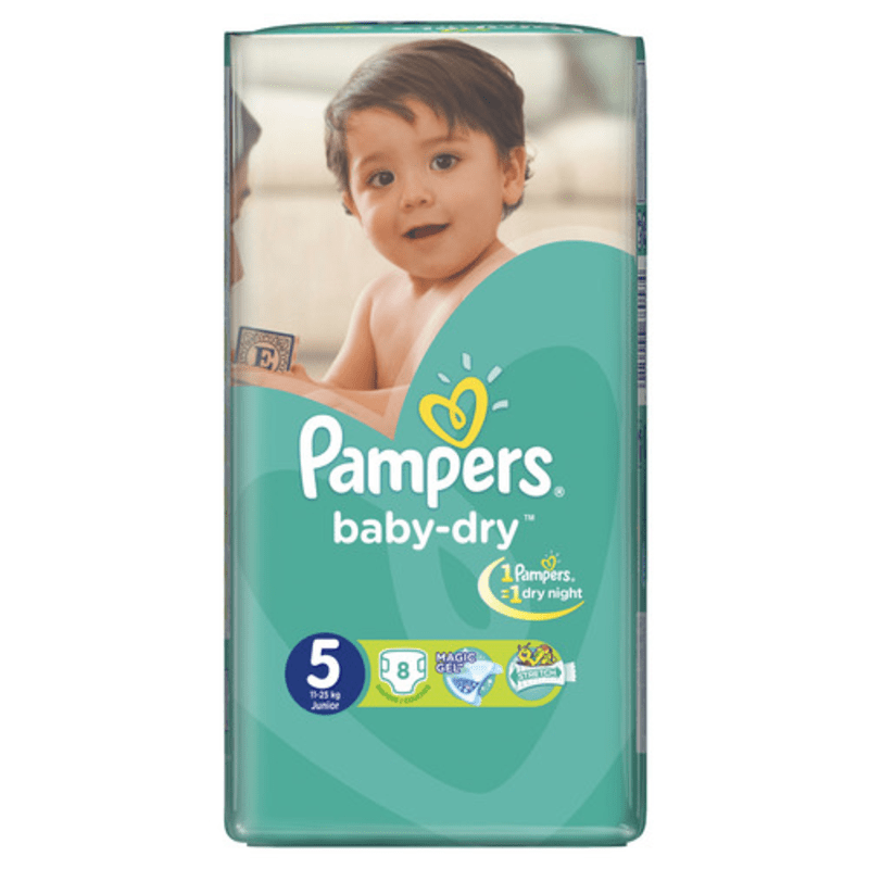 Pampers Carry Pack Junior Butterfly (12+ kg)